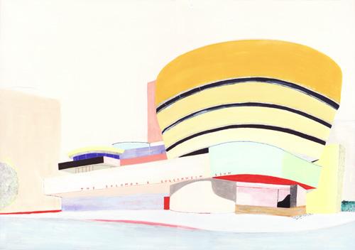 グッゲンハイム美術館(Frank Lloyd Wright)/2011/A3