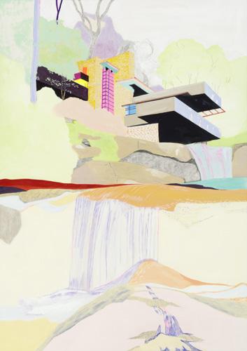 落水荘(Frank Lloyd Wright)/2011/A3
