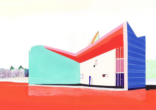ガンジー記念館(Pierre Jeanneret)/2011/A3