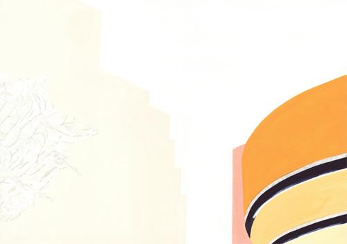 グッゲンハイム美術館(1/4)(Frank Lloyd Wright)/2011/A3